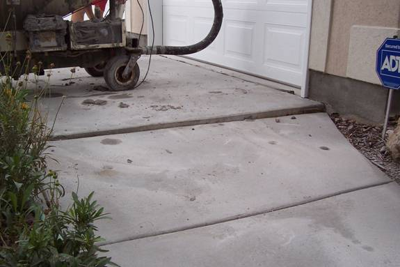 Before our Utah concrete repair lifting repair service